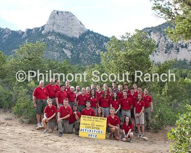 Activities Staff Photo 2012