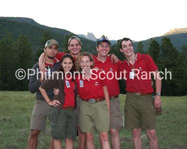 Carson Meadows Staff 2012 Back row (L to R): Corey Mullins, Frank Frantz, Cougar Bergman, Carl Garrett Front row: Ashley Valle, Caroline Davis