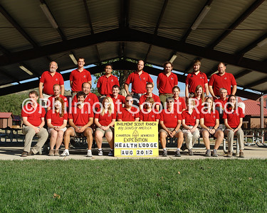 August Health Lodge Staff 2012