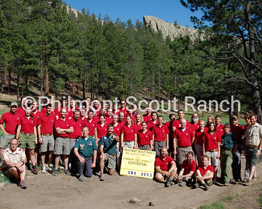 Camp Director group photo, CDs, Cito, 2012