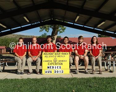 August Health Lodge Staff 2012 - Medics