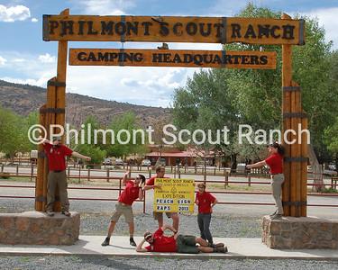 Apache Springs Staff 2013 (L to R): Luke Giannoulas, Jonathan Thornton, William Ott, Rachel Savidge, Hall Miles, Ashley Valle