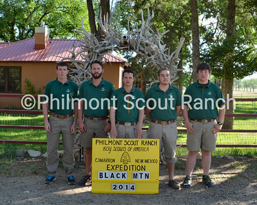 (Left to Right) Aaron Anderson, Nick Danford, Logan Smithey, Colton Lynn, Ben Fox