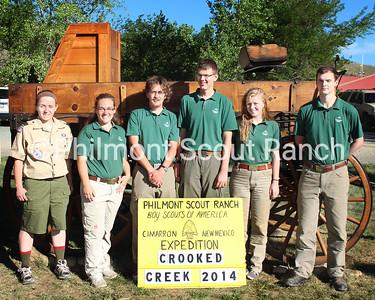 (Left to right) Danielle Schmidt, Rachel Solomons, Caleb Jennings, Peter Lenharth, Regan Milner, James Fields