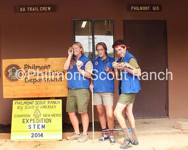 (Left to Right) Sarah Burgess, Rachel Thomas, Carlisle Evans Peck
