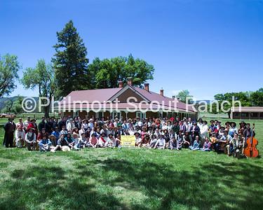 Living History Group Photo at Kit Carson / Rayado