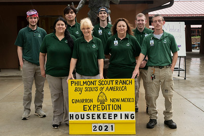 Staff Photos for Philmont Scout Ranch 2021.