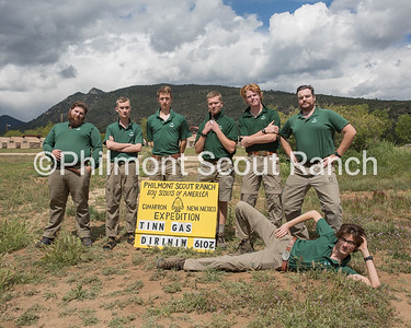 Back: Patrick Spollen, Lennart Droege  Front Row: Ervin Lane, Connor Clary, Michael Burns, Shawn Buchanan, Ben Trangsrud