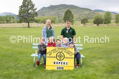 Week 1 group of ropers