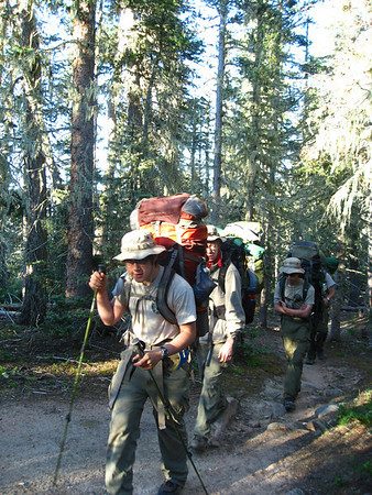 Philmont Day 7 (Clear Creek)