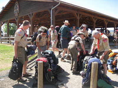 Philmont-Day 1 (Base Camp)