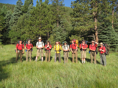 Philmont-Day 10 (Upper Clark's Fork)
