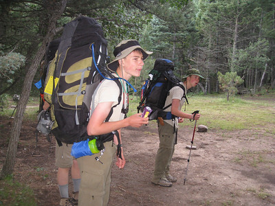 Philmont-Day 11 (Tooth of Time ridge)