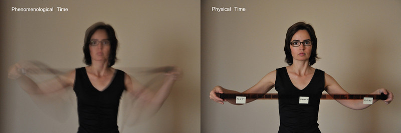 Difference between phenomenological and physical time 001