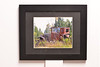 """An old clunker resting and rusting peacefully in the weeds north of Duluth, Minnesota.<br /> Photo size 7 1/2"""" x 9 1/2"""" (8"""" x 10""""), frame size 13 3/4"""" x 16 1/2""""<br /> $59.00"""