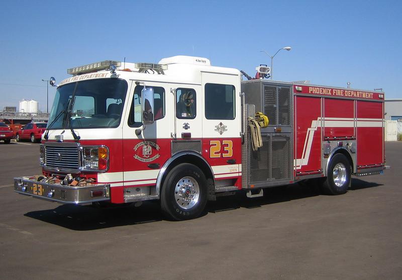 E23 2003 ALF Eagle mid-engine rear-pump 1250gpm 500gwt 80gft CAFS #331019
