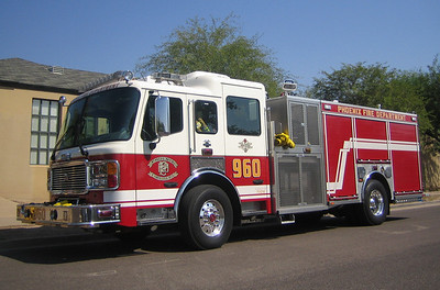 E960 2007 ALF Eagle mid-engine rear-pump 1250gpm 500gwt 80gft CAFS #731018