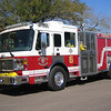 E6 2005 American Lafrance Eagle Mid-Engine Rear Pump 1250gpm 500gwt 80gfts CAFS #531065