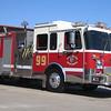 E99 1995 Spartan Baron / Saulsbury mid-engine rear-pump 1250gpm 500gwt 80gfts CAFS
