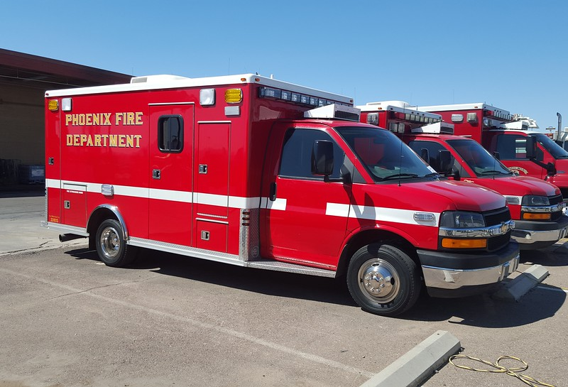 Reserve Rescue 2012 Chevy 4500 #231013 (ps) upgraded LEDs
