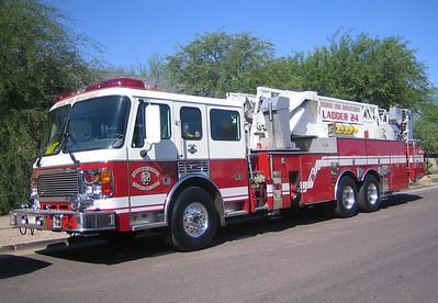 L24 2000 American Lafrance Eagle 93ft mmt #031039