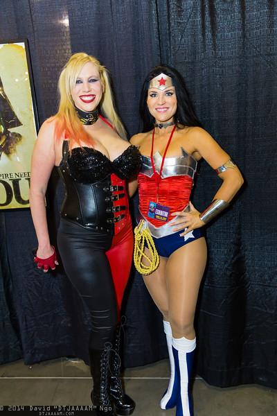 Harley Quinn and Wonder Woman