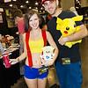 Misty, Ash Ketchum, Togepi, and Pikachu