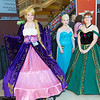 Rapunzel, Elsa, Anna, and Pascal