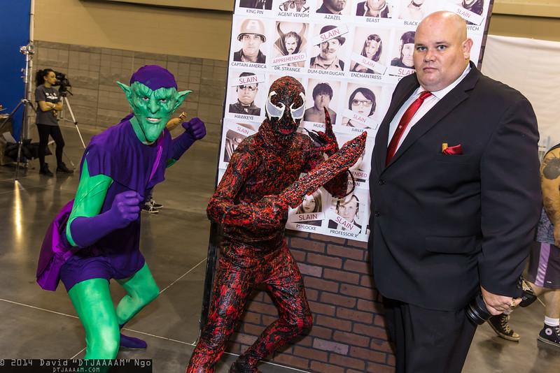 Green Goblin, Carnage, and Kingpin