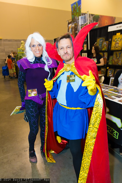 Clea and Dr. Strange