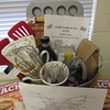 Staff photo by Cathy Spaulding<br /> Whisks, syrup and pancake mix are part of this Coffee Basket, up for auction at Hornet Night. The annual fundraiser will be 5:30 p.m. Friday at Hilldale Elementary School.
