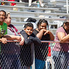 "Special photo by Abigail Washington<br /> Athletes, friends and family watch Special Olympians participate Saturday in the Cherokee Country Special Olympics at Hilldale High School. More pictures online at  <a href=""http://www.muskogeephoenix.com"">http://www.muskogeephoenix.com</a>."