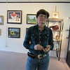 Staff photo by Cathy Spaulding<br /> Annita Wilson, president of Wagoner Arts Alliance, says a new facility at 130 S. Main St. will feature a gallery and studio. The Alliance grand opening is Saturday.