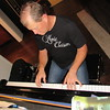 Staff photo by Cathy Spaulding<br /> Jay Huffer plays a few notes on his home piano. He has played keyboards since he was 5.