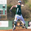 Phoenix special photo by Von Castor<br /> Muskogee's Cale Hutchins delivers a pitch during Monday's first game at Roughers Park on Monday.