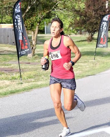 Phoenix special photos by John Hasler<br /> Pauline Marks of Broken Arrow won the Muskogee Run on Saturday.