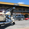 Staff photo by Cathy Spaulding<br /> Motorcycles of all types are expected in and around Tahlequah this weekend for Big Jim's Motorcycle Rally. The rally is named for a man who owned and operated an outdoor market from the 1940s through the early 1960s.