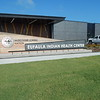 KENTON BROOKS/Muskogee Phoenix<br /> This sign greets patients and visitors alike at the new 79,000-square foot Eufaula Indian Health Center. A ribbon-cutting ceremony was held Tuesday at the new facility.