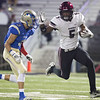 Phoenix file photo by Von Castor<br /> Wagoner's Nikia Jones, right, has been a playmaker for the Bulldogs since his freshman season. His class has a chance for a career slam in state championships.