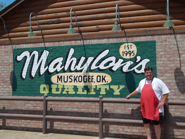 ABIGAIL HALL/Muskogee Phoenix<br /> Kenny Greer opened Mahylon's in 1995, which has remained a staple of Muskogee.
