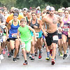 Phoenix special photo by John Hasler<br /> Approximately 150 runners take off for the Waterloop Trail Run 10K and 5K Saturday.