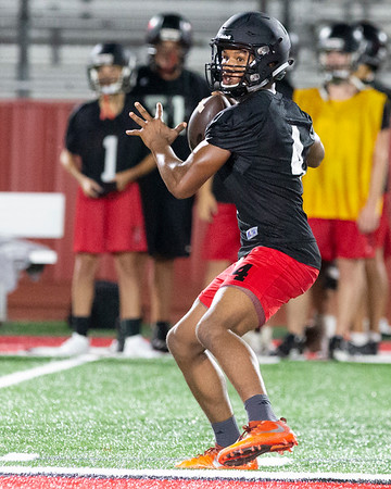 VON CASTOR/Phoenix Special photo<br /> Melchesidech Porter is a summer move-in who is battling for the quarterback position at Hilldale.