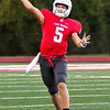 Phoenix special photo by John Hasler<br /> Chandler Ladd throws in a game last season. He returns at quarterback for Fort Gibson.