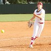 JOHN HASLER/Phoenix special photo<br /> Fort Gibson pitcher Courtney Hill throws a pitch during the Lady Tigers' 5-0 win over Sallisaw on Monday.