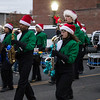 Special photo by Wendy Burton<br /> Members of the Muskogee High School marching band perform in Saturday's parade.