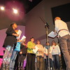 """Staff photo by Cathy Spaulding<br /> Vocalists practice for """"O Holy Night,"""" to be presented at 7:30 p.m. Saturday and Sunday at Boulevard Christian Church."""