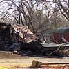 Staff photo by Mike Elswick<br /> A 6-month-old girl died in an early Friday morning fire at a mobile home in Toppers in Wagoner County. The baby's parents and an older sister were transported to a hospital and are stable, officials said.