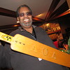 Staff photo by Cathy Spaulding<br /> James Willis shows off his Alpha Phi Alpha fraternity paddle he got when he belonged to the Mu Mu Lambda chapter in Chicago. He remains active in the Muskogee chapter.