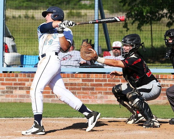 Phoenix special photo by John Hasler<br /> Oktaha's Matt Erwin is a returning slugger for the Tigers, who are looking for their fourth state trip in two years, counting fall and spring seasons.