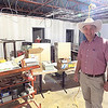 Staff photo by Mike Elswick<br /> Gospel Rescue Mission Executive Director Rich Schaus stands in the area which is being transformed into a chapel at the new Miller Family Center for Life Change where mission operations are scheduled to move to in May.